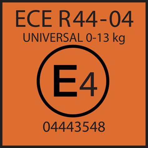 siège auto la norme ece r44 04