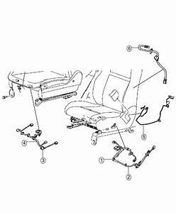 2014 Dodge Grand Caravan Wiring  Power Seat  Manual Dr 2