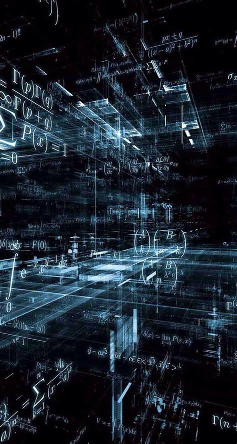 Include the wallpaper resolution in the title. Science; math; numbers wallpaper (com imagens) | Papel de parede preto, Fundo de tela celular ...