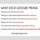 What Each Gesture Means In A Relationship   500 x 400 jpeg 91kB