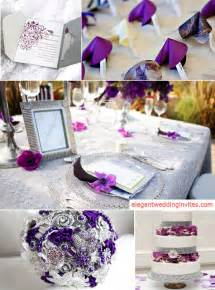 silver wedding top 5 color combination ideas for purple weddings