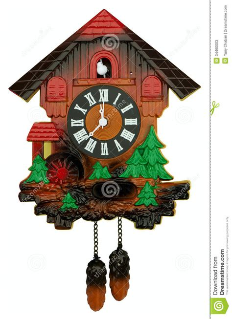 cuckoo clock stock  image