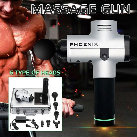 Phoenix Portable Electric Percussion Massager | GadgetKing.com