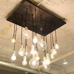 Lampen Mit Perlenfransen : coole diy lampen aus gl hbirnen basteln sch n und funktional ~ Indierocktalk.com Haus und Dekorationen