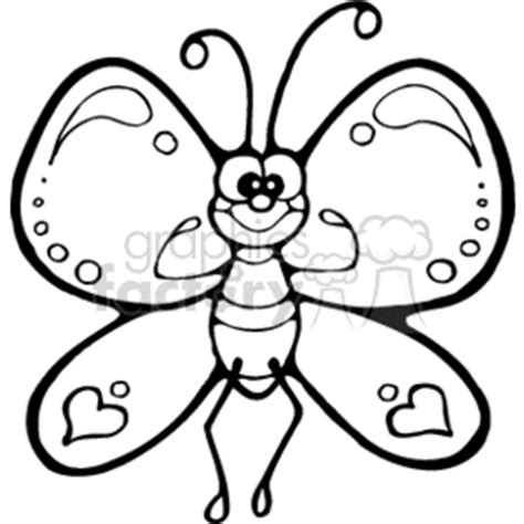 cartoon butterfly clip art images royalty  vector