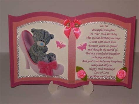 handmade personalised  birthday card sister