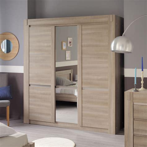 porte en bois de chambre miroir de chambre a coucher
