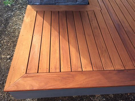 Genuine Mahogany Decking