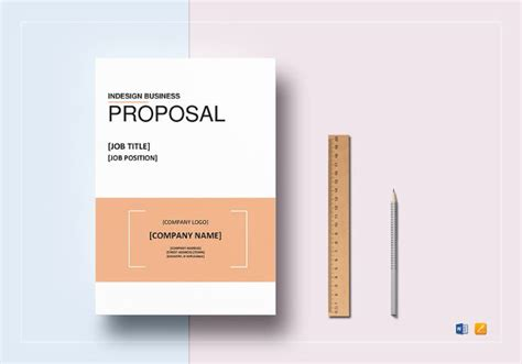 business proposal template   word  psd