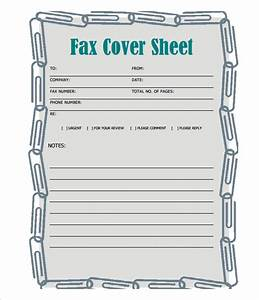 Printable Fax Cover Sheet 12 Free Fax Cover Sheet For