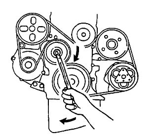Need Diagram For Serpentine Belt Chevy Tracker Cyl