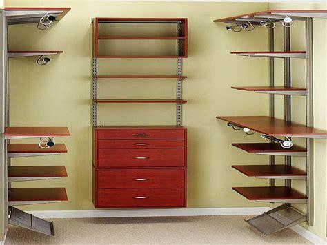 ideas design wood closet organizers interior