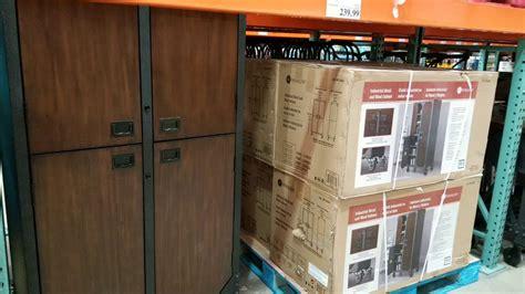 costco whalen industrial wood metal cabinet  work