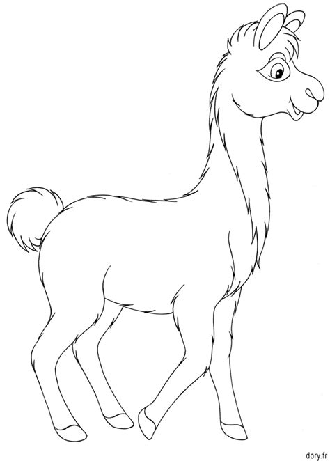 site de cuisine gratuit dessin à colorier un lama dory fr coloriages
