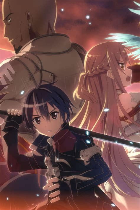 sword art onlinekirito iphone  wallpaperasuna