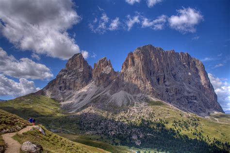 mountain range between and italy dolomites beautiful places to visit