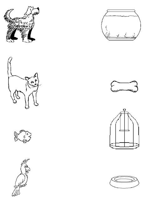worksheets pets preschool preschool worksheet on pets kid worksheet