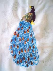 Sadala, U0026, 39, S, Embroidery, Peacock, My, Dream, Project