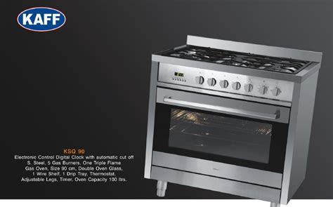 Kaff Cooking Range, Built In Hobs And Ovens, Kitchen