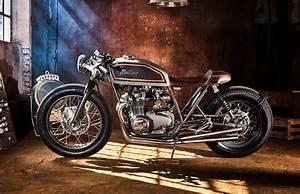 Honda 550 Four : four pot supershot a classic honda cb550 cafe racer from mellow motorcycles ~ Melissatoandfro.com Idées de Décoration