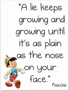 Don't Be A Pinocchio. Speak Truth, Not Lies. Proverbs 14 ...