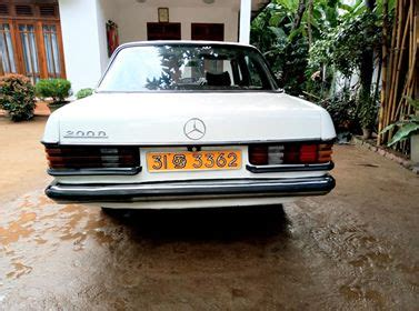 Great savings & free delivery / collection on many items. Mercedes Benz W123 - GEMBO Classified | Sri Lanka Ads