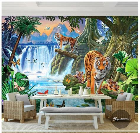 custom  wallpaper  murals wallpaper wall cute cartoon