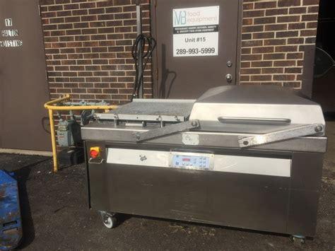 multivac  vacuum sealer double chamber machine mb