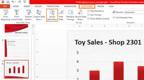 How To Set Up A Powerpoint Template by Slide Timings Slide Show Set Up Slide Show