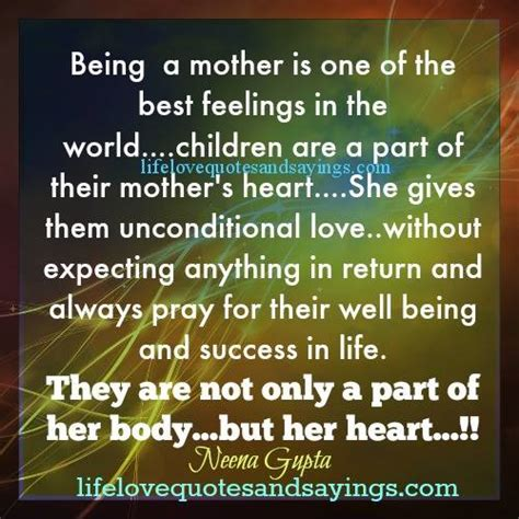 mothers unconditional love quotes quotesgram