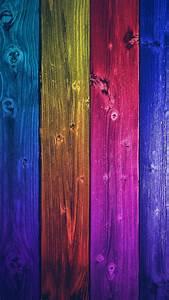 Colorful Wood Tiles Vertical iPhone 6 Wallpaper HD