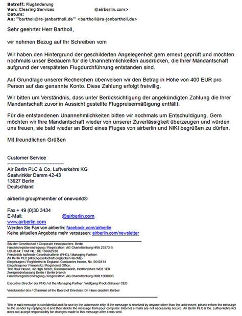 air berlin rimowa koffer beschaedigt wertermittlung
