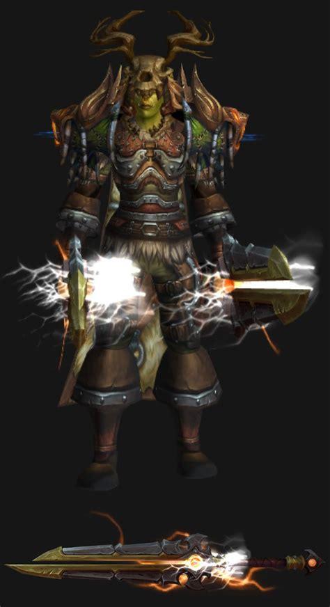 transmog rogue wow warcraft orc female outlaw legion artifact sets male thunderfury feuerwehr spielzeug fantasy mog druid weapons skin