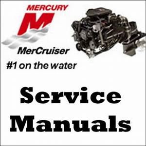 Mercury Mercruiser Alpha One 1 Sterndrives Service Manual