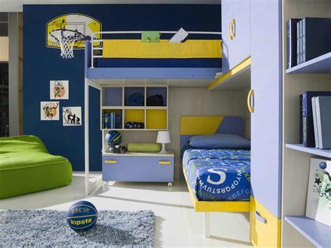 chambre basket peinture chambre enfant en 50 idées colorées