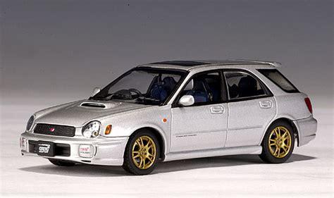 subaru autoart autoart 2001 subaru new age impreza wrx wagon sti