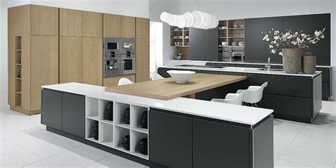 Designer Kitchen Charcoal Oak