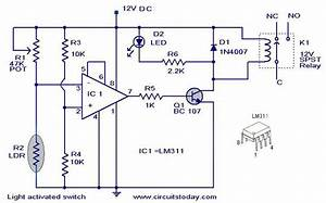 Circuit Wiring  How To Make A Light Activated Day Night Switch Circuit  U2013 Science Fair Project