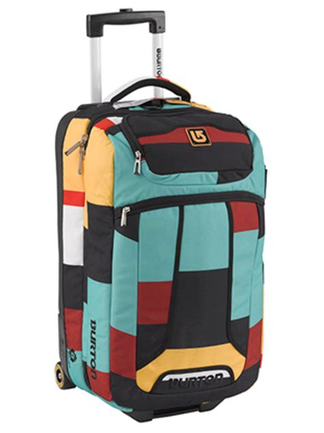 Burton Wheelie Flight Deck Luggage Bag by Burton Wheelie Flight Deck Carry On Luggage Review