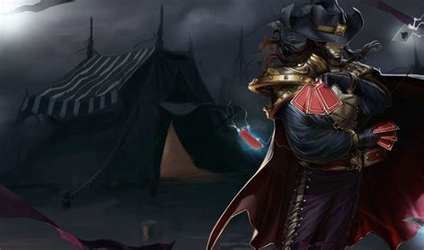 Twisted Fate Animated Wallpaper - league of legends twisted fate trailer impossible