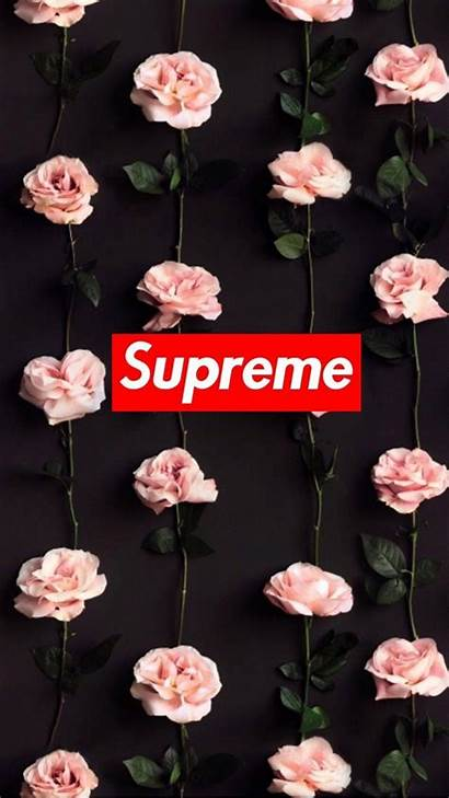 Supreme Wallpapers Rose Adidas Wallpaperplay Parede Papel