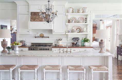 elegant white kitchen cabinets 15 serene white kitchen interior design ideas https