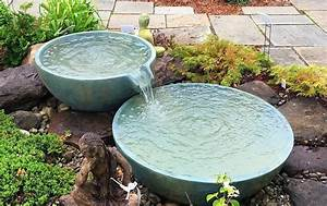 Bubbling, Urn, Water, Feature