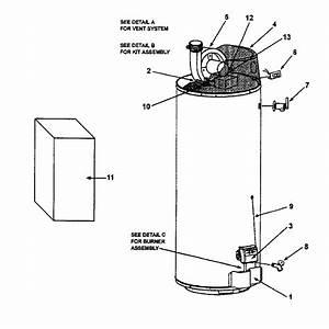 Ao Smith Gphe50 Gas Water Heater Parts