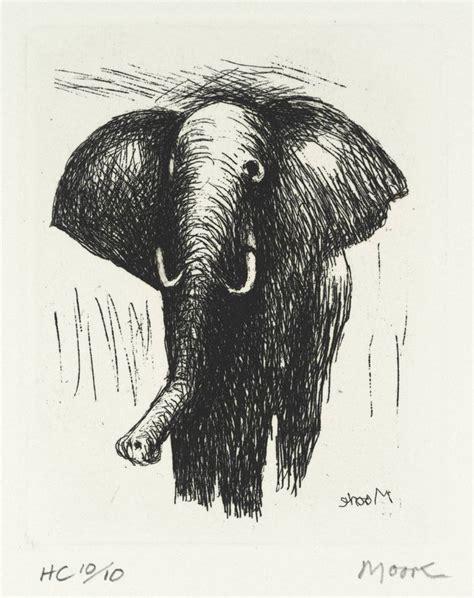 henry moore om ch elephant    henry moore