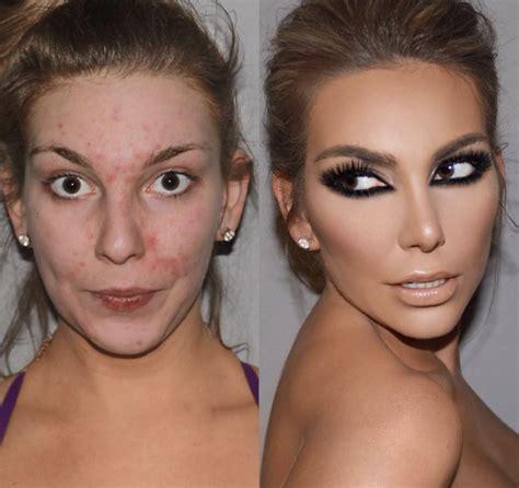20 futures mariées photographiées avant et après la séance de maquillage
