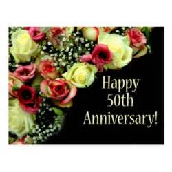 4th wedding anniversary gifts for happy 50th anniversary cards zazzle