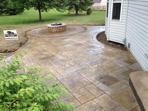 walkers concrete llc stamped concrete patio stamped
