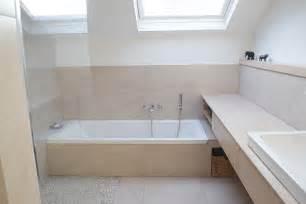 kleine badezimmer planen kleines bad mit dachschräge