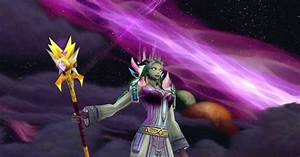 World of Warcraft Threads: Arcane Mage with Higher Learning?
